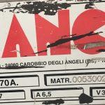 Segatrice a Nastro Automatica BIANCO Mod.370