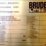 Pressa a Ginocchiera BRUDERER (60 Ton)