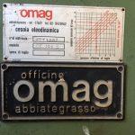 """Cesoia a Ghigliottina Idraulica OMAG """" 3000 x 6 mm """""""