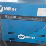 """Saldatrice Al TIG Miller """"Inverter"""" CC/DC 152 Max Star (norme CE)"""