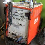 Saldatrice al Tig ETC 350 in AC / DC Elettrotermochimica