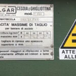 Cesoia a Ghigliottina Colgar Mecc. 3000 x 5/6 Mm