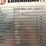 "Pressa Piegatrice Idraulica Sincronizzata Ermakssan 3000 x 135 Ton CNC Esa 6 Assi ""Speed Band Pro"""