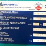 Cesoia a Ghigliottina idraulica WarCom mod. MAXIMA 4000 x 8 mm Norme CE