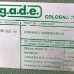Cesoia a Ghigliottina Idraulica GaDe da 3000 x 6 mm ( Spessore )