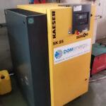 Compressore a Vite Rotativa KAESER modello SK 25 (norme CE)