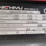 Muletto Sollevatore Elettrico NICHIYU portata 25 Q.li