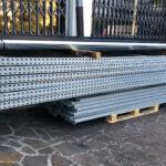 Scaffalatura Porta Correnti in Metallo TEkNO-Metals Zincata a Caldo