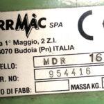 """Maschiatrice – Filettatrice a colonna Serrmac """"MDR 16"""" –   ( Norme CE)"""