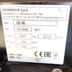 """Generatori Riscaldatori Mobili di Aria Calda """"biemmedue"""" norme CE"""