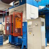 Pressa Meccanica Doppio Montante Zani Potenza 200 Ton. Norme CE