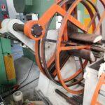 Aspo Svolgitore Motorizzato ad espansione idraulica Asservimento Presse 15 q.li CE
